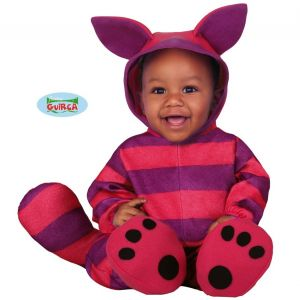 Babies Purple Cat Fancy Dress Costume
