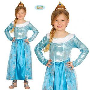 Childs Ice Princess Fancy Dress Costume