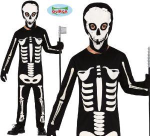 Childs Skeleton Fancy Dress Costume