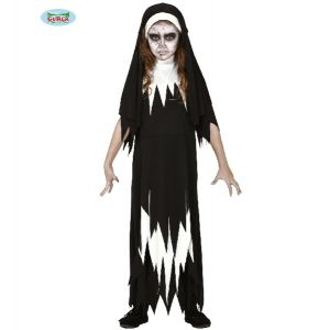 Girls Halloween Nun Costume