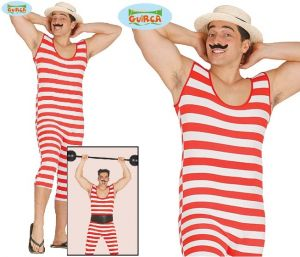 Adult Old Time Bather Costume
