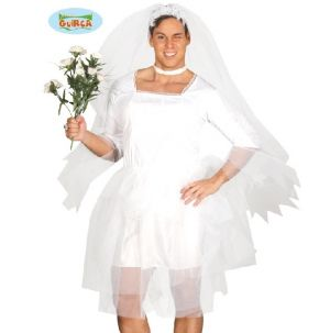Mens Male Bride Stag Night Costume