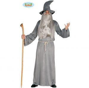 Mens Halloween Magician Wizard Costume