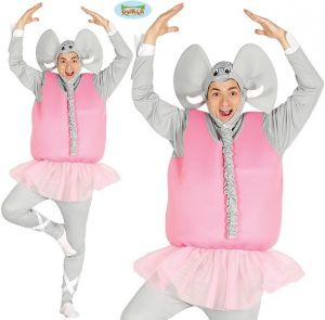 Adult Ballerina Elephant Costume