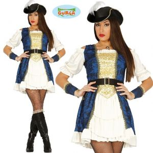 Ladies Luxury Pirate Lady Costume