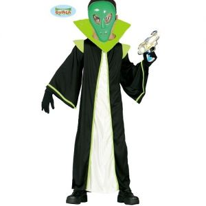 Childs Alien Fancy Dress Costume