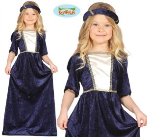 Childs Medieval Lady Costume