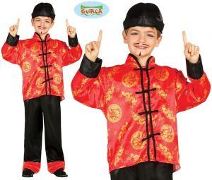 Childrens Chinese Fancy Dress Costume