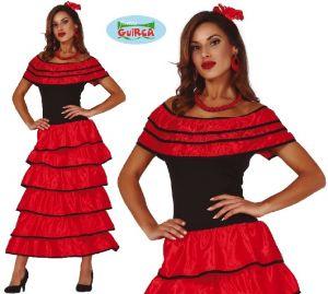 Ladies Spanish Flamenco Costume