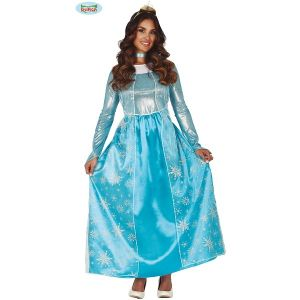 Ladies Frost Ice Princess Costume