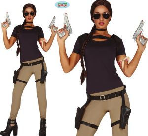Ladies Tomb Adventurer Costume