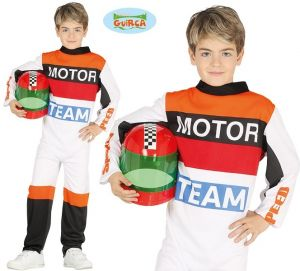 Childs Motor Racing Driver Costume