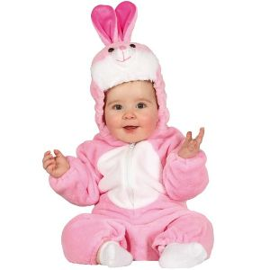 Babies Pink Bunny Costume