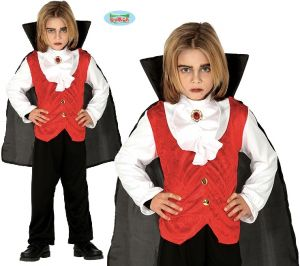 Childs Halloween Vampire Dracula Costume