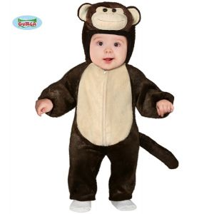Baby Little Monkey Fancy Dress Costume