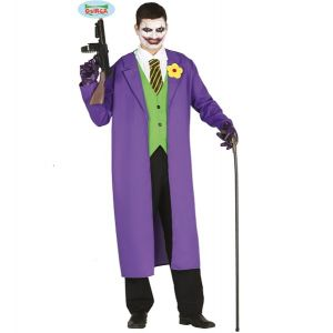 Mens Assassin Jester Costume