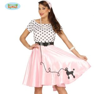 Ladies 1950s Poodle Girl Costume