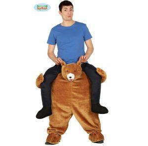 Let me Go Piggy Back Teddy Bear Costume