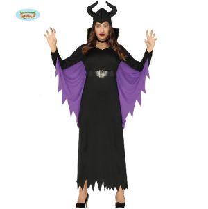 Ladies Halloween Evil Fairy Costume