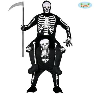 Adult  Halloween Let Me Go Skeleton Costume