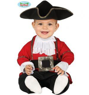 Babies Pirate Fancy Dress Costume