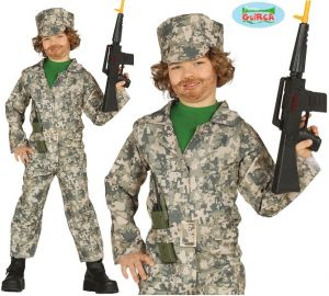Childrens Miltary Soldier Costume