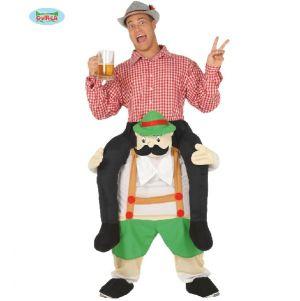Bavarian Guy Piggy Back Costume