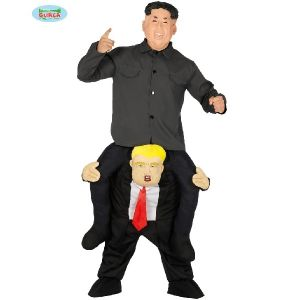Let me Go Piggy Back President Costume