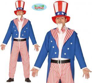 Mens American Uncle Sam Costume