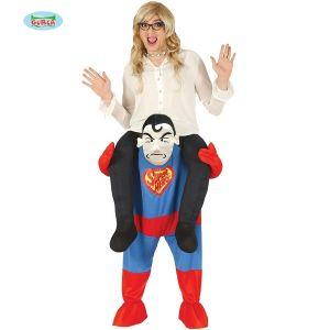 Let me Go Piggy Back Superhero Costume
