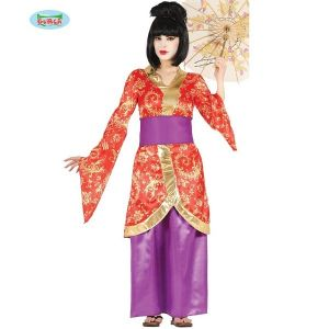 Ladies Japanese Geisha Girl Costume