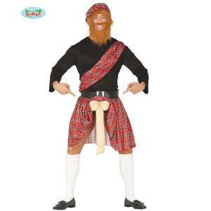 Mens Scotsman with surprise Costume