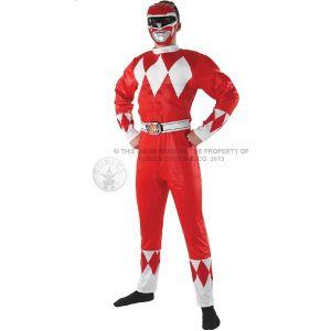 Mighty Morphin Red Power Ranger Costum