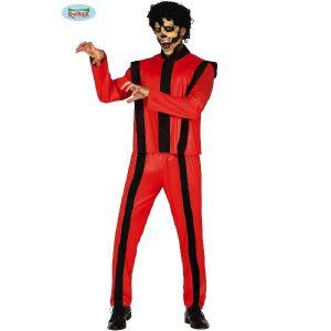 Halloween 80s Zombie Pop Singer Costume