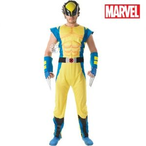 Mens Wolverine Fancy Dress Costume