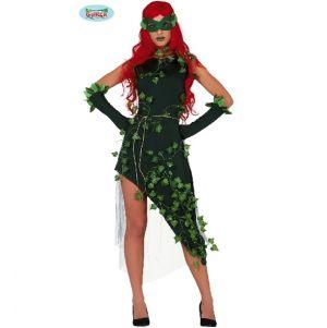 Ladies Plant Villain Lady Costume