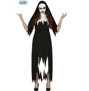 Womens Halloween Nun Costume
