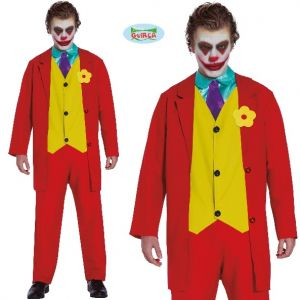 Mens Mr Smile Villain Costume