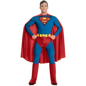 Superhero Fancy Dress Superman Costume