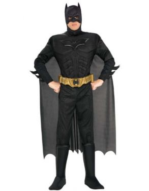Mens Deluxe Dark Knight Batman Costume
