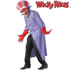 "Wacky Races Dick Dastardly Fancy Dress Costume - 38-42"" or 42-46"""