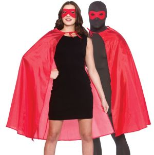 Adult Superhero Cape Kit - Red