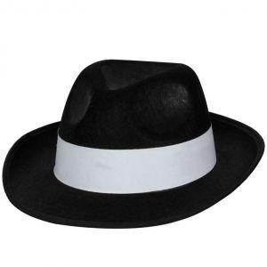 Gangster Fancy Dress Mobster Hat