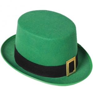 Leprechaun St Patricks Day Fancy Dress Top Hat