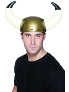 Viking Fancy Dress Helmet with Horns