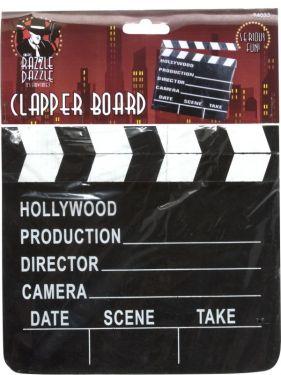 Hollywood 20s Movie Film Clapper Board