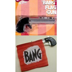 Novelty Bang Gun with Flag