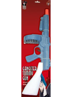 Gangster Fancy Dress - Tommy Gun with Sparking Sounds