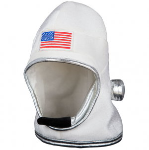 Padded Astronaut Fancy Dress Helmet