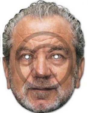 Celebrity Fancy Dress Mask - Alan Sugar Mask